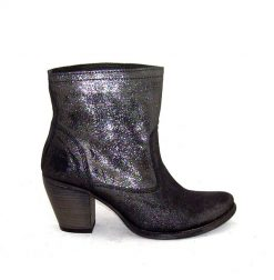 Felmini black glitter ankle boot