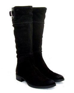 Geox Mendi black flat boot