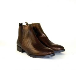 Felmini bronze ankle boot