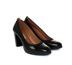 Pedro Anton black court shoe