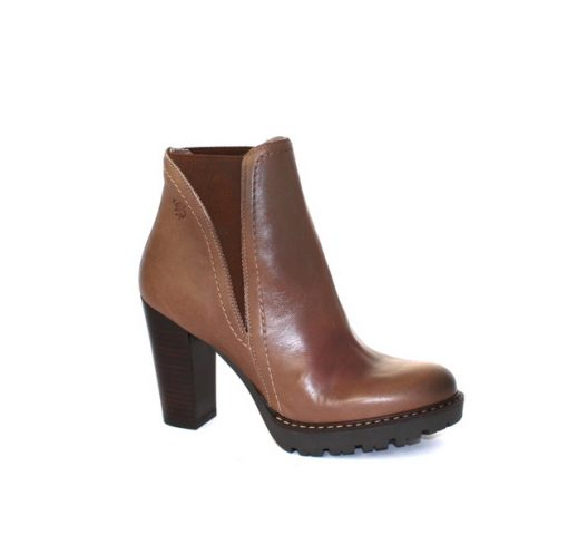 Yokono high taupe ankle boot