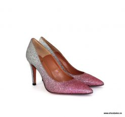 Oxitaly pink and silver sparkle court