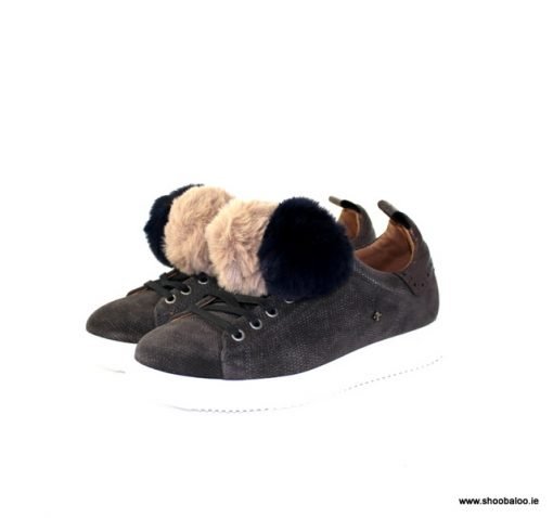 Bourbon by Amy Huberman Gilda trainer in taupe