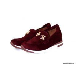 Pedro Anton burgundy loafer