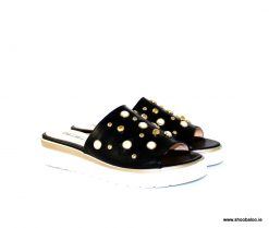 Marco Moreo black slip on