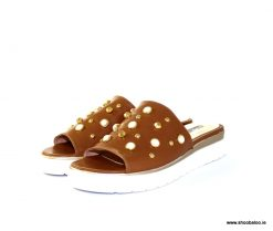 Marco Moreo tan slip on