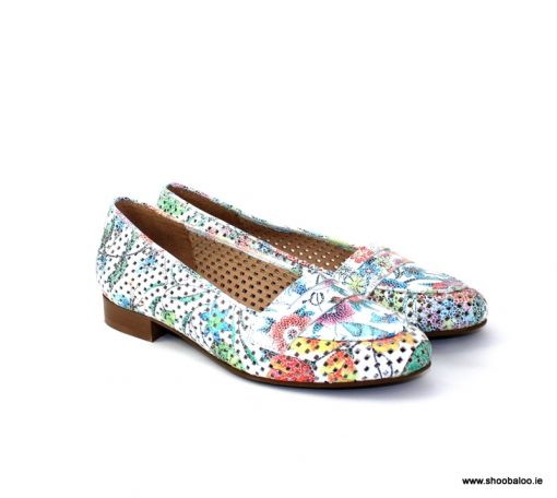 Pinto di Blu floral loafer