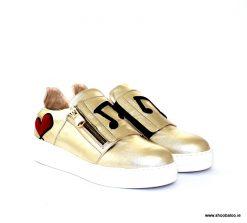 Oxitaly gold sneaker