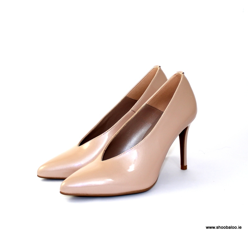 d9091077cf6c88 Marian nude patent V front court - shoobaloo