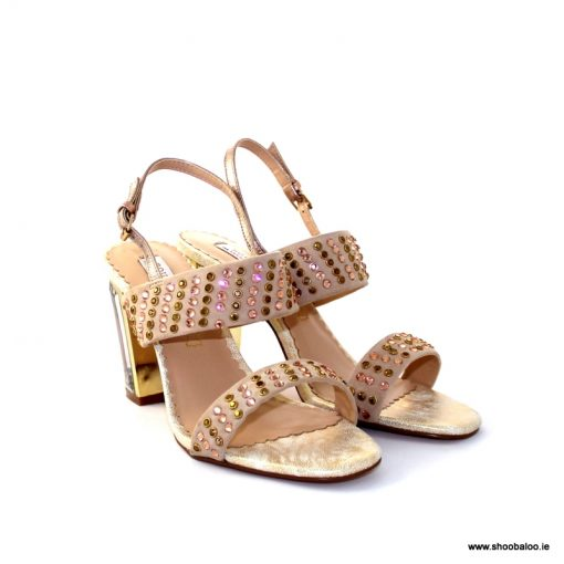 Bourbon by Amy Huberman Just Wright in rose bling