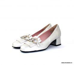 Scolaro silver loafer