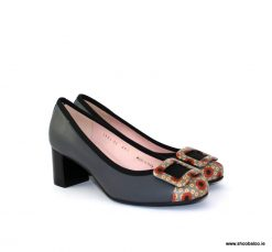 3f683377ef51f Le Babe grey patterned new court