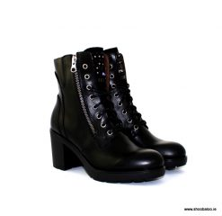 Nero Giardini lace up boot with chunky heel
