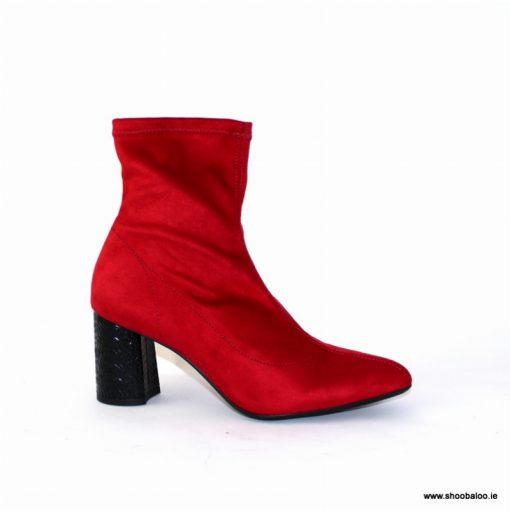 Zeeb by Barminton Red Sock Boot