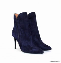 Marian navy suede ankle boot