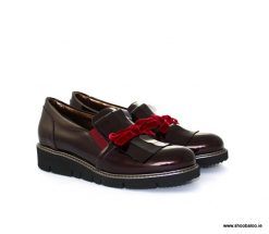 Scolaro burgundy loafer