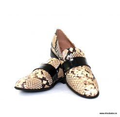 Marian snakeskin loafer