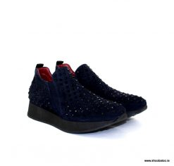 Marco Moreo wedge slip on in navy