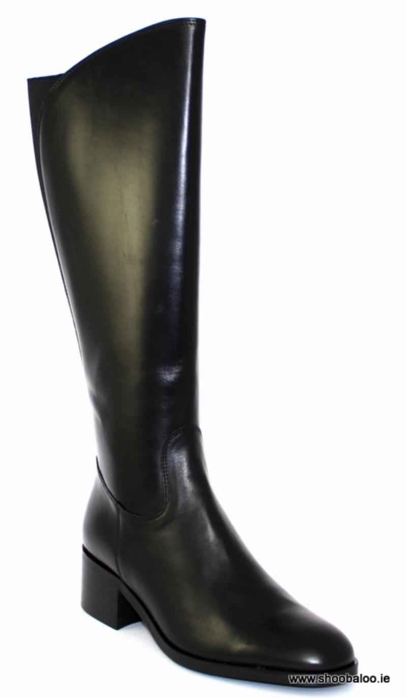cde671756ec Pinto di Blu long black boot - shoobaloo