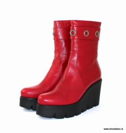 Marco Moreo Red ¾ length boot